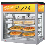 "Hatco WFST-1X 32.06"" Full-Service Countertop Heated Display Case - (4) Shelves, 120v"