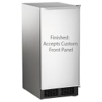 "Scotsman DCE33A-1SSD 34""H Top Hat Undercounter Ice Maker - 30 lbs/day, Gravity Drain"