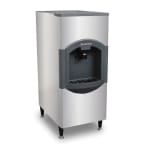 Scotsman HD22B-1 Floor Model Cube Ice Dispenser w/ 120 lb Storage - Bucket Fill, 115v