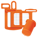 "Dynamic AC061 Grid Set, 1/4""(8.5x8.5 mm), Includes Pusher for DC3, Orange"