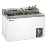 "Master-bilt FLR-80SE 54"" Stand Alone Ice Cream Freezer w/ 6-Tub Capacity & 11-Tub Storage, 115v"