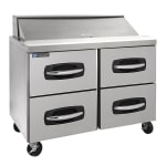 "Master-bilt MBSP48-12-001 48"" Sandwich/Salad Prep Table w/ Refrigerated Base, 115v"