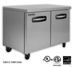 Master-bilt MBUR60-001 16.5 cu ft Undercounter Refrigerator w/ (2) Sections & (4) Drawers, 115v