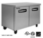 Master-bilt MBUR60-002 16.5 cu ft Undercounter Refrigerator w/ (2) Sections, (2) Drawers & (1) Door, 115v