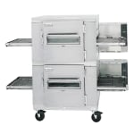"Lincoln 1400-FB2G 78"" Gas Double Conveyor Oven, NG"