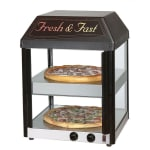 "Star 18MCPT 18.5"" Heated Pizza Merchandiser w/ 2 Levels, 120v"