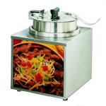 Star 3WLA-4H Lighted Food Warmer, 3.5 qt, Insert & Cover, 1 oz Ladle, 120v