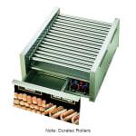 Star 45SCBD 45 Hot Dog Roller Grill w/Bun Storage - Slanted Top, 120v