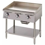 """Star 736TA 36"""" Electric Griddle - Thermostatic, 1"""" Steel Plate, 208v/1ph"""