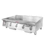 "Star 860MA 60"" Gas Griddle - Manual, 1"" Steel Plate, NG"