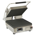 Star PGT14IEGT Commercial Panini Press w/ Cast Iron Grooved Top/Smooth Bottom Plates, 208-240v/1ph