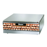 Star SST-30 120 Bun Warmer w/ 48-Bun Capacity, For 30, 30S, 45A, & 45SSA w/ Shelf