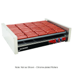 Star X75 75 Hot Dog Roller Grill - Slanted Top, 240v