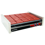 Star X75S 75 Hot Dog Roller Grill - Slanted Top, 240v