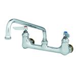 "T&S B-0231-CC Faucet, 12"" Swing Nozzle, 8"" Center (1/2"" IPS CC Male Inlet)"