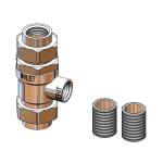 T&S B-0962 Vacuum Breaker, Continuous Pressure w Atmospheric Vent