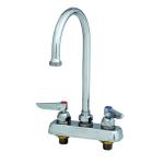 T&S B-1140 Faucet, Gooseneck Nozzle, Deck Mount