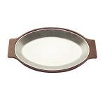 """Tomlinson 1006338 Bakelite Platter Holder for 8 x 12"""" Platter, Brown"""