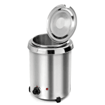 Tomlinson 1026000 5.3 qt Countertop Mini Soup Warmer w/ Thermostatic Controls - Stainless, 120v