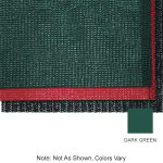 """Tomlinson 1035931 Grip Net Case Liner, 36 x 720"""", Dark Green"""