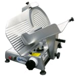 "Univex 4612 Compact Manual Slicer, 12"" Blade, Variable Slice Thickness, Sharpener, 115v"