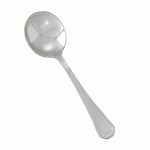 Winco 0035-04 Bouillon Spoon, Extra Heavy, 18/8 Stainless Steel, Victoria Design