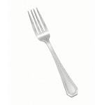 Winco 0035-05 Dinner Fork, Extra Heavy, 18/8 Stainless Steel, Victoria Design