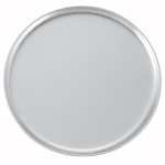 "Winco APZC-13 13"" Round Coupe Pizza Pan, Aluminum"