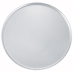 "Winco APZC-18 18"" Round Coupe Pizza Pan, Aluminum"