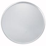 "Winco APZC-18 18"" Round Coupe Pizza Pan, Aluminum"