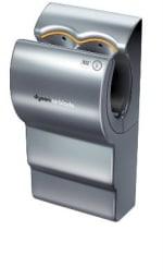 Dyson AB02 Dyson Airblade Automatic Hand Dryer, Quick, Efficient, Hygienic, Aluminum, 120v
