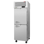 "Turbo Air PRO-26-2F-N 28.75"" Single Section Reach-In Freezer, (2) Solid Doors, 115v"