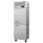"Turbo Air PRO-26-2R-PT-N 29"" Single Section Pass-Thru Refrigerator, (4) Solid Doors, 115v"