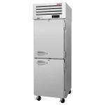 "Turbo Air PRO-26-2R-PT-N 28.75"" Single Section Pass-Thru Refrigerator, (4) Solid Doors, 115v"