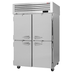 "Turbo Air PRO-50-4F-N 51.75"" Two Section Reach-In Freezer, (4) Solid Doors, 115v"