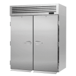 "Turbo Air PRO-50R-RI-N 67"" Two Section Reach-In Refrigerator, (2) Solid Door, 115v"