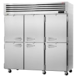 """Turbo Air PRO-77-6R-N 77.75"""" Three Section Reach-In Refrigerator, (6) Solid Doors, 115v"""