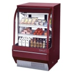 "Turbo Air TCDD-36H-R-N 36.5"" Full Service Deli Case w/ Curved Glass - (3) Levels, 115v"