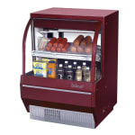 "Turbo Air TCDD-36L-R-N 36.5"" Full Service Deli Case w/ Curved Glass - (3) Levels, 115v"