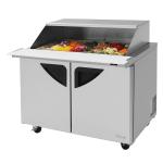"Turbo Air TST-48SD-18-N-SL 48.25"" Sandwich/Salad Prep Table w/ Refrigerated Base, 115v"