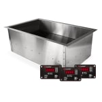 CookTek IHW061-34 Drop-In Hot Food Well w/ (1) Full Size Pan Capacity, 100 125v/1ph