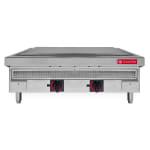 "CookTek 648401 36"" Countertop Induction Plancha - Chrome Plate, 208v/3ph"