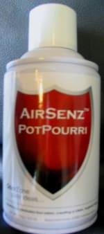 Control Zone F009 AirSenz Fragrances, 6 oz, Covers 6000 cu.ft. -  Potpourri