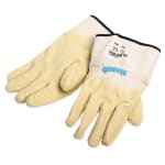 San Jamar 1000 Oyster Shucking Glove, Natural Rubber, Wet Dry Grip, One Size
