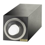 San Jamar C2901 Dimension Beverage Center Cabinet, Single with Chrome Trim Ring