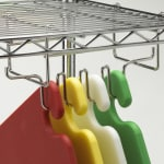 San Jamar CNCRK Cut-N-Carry™ Hanging Rack for Wire Shelving