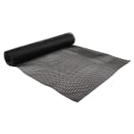 San Jamar PL0105 Poly-Liner Poly Shelf Liner, 2 x 10 ft Roll, Black