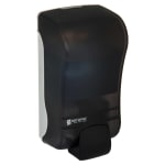 San Jamar SF1300TBK 1300 mL Wall-Mount Foam Soap Dispenser - Manual, Black Pearl