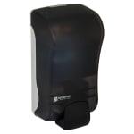 San Jamar SF1300TBK 1300-mL Wall-Mount Foam Soap Dispenser - Manual, Black Pearl