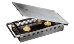"World Cuisine 41569-33 Plate Dish Warmer w/ Dual Handles, 13 x 7-1/8"", Stainless"